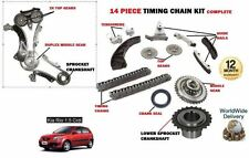 FOR KIA RIO 1.5 CRDI D4FA 2005-2010 NEW TIMING CHAIN + GEARS + SPROCKET KIT
