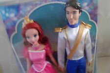 Mattel Disney Little Mermaid Princess Ariel & Prince Eric Doll