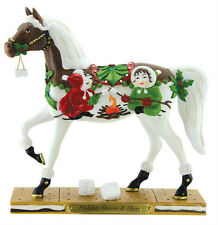 Trail of Painted Ponies HOLIDAY S'MORES & MORE FIGURINE Low 1st Edition #1E/0670
