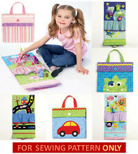 SEWING PATTERN! MAKE CLOTH TRAVEL~QUIET~CHURCH TOY! CAR~MONSTER~PRINCESS~OCEAN