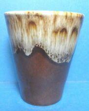 Vintage Brown Drip 5 oz Juice Glass
