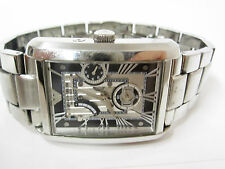 Emporio Armani Men's Meccanico AR4246 Silver Stainless-Steel Automatic Watch