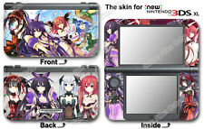Date A Live Amazing New Skin Sticker Cover Decal for NEW Nintendo 3DS XL (2015)