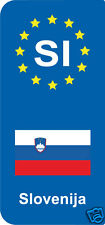 2 Stickers Europe Slovenija  SI