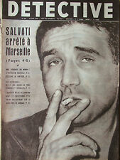 Détective n°625 (20/6/1958) Salvati- Les Anges gardiens de la mer-Jean Haye
