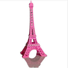 Pink Home Decor Rhinestone Baking Varnish Paris Eiffel Tower Valentine Gift 13cm