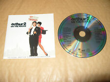 Arthur 2 On The Rocks Soundtrack cd 10 tracks 1988 Rare cd