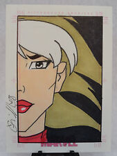 ROGUE X-MEN 2007 ORIGINAL WOMEN OF MARVEL SKETCH CARD