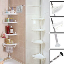 New Bathroom Bathtub Shower Caddy Holder Corner Rack Shelf Organizer Accessory
