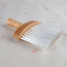 Wooden Handle Barber Wide Neck Duster Brush For Hair Cutting Hairdressing Salon