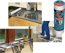 NEW EverBuild Roll & Stroll Laminate Hard Wood Floor Protector Film Covering 25m