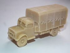 FRONTLINE WARGAMING BRITISH BEDFORD OYD 3 TON LORRY RESIN MODEL KIT - B16