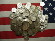 Survival Money (20) Twenty 1916-1945 Mercury Dimes 90% Silver Circulated Coins