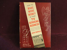 How to Make More Money in Your TV Servicing Business by John Markus