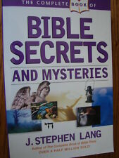 The Complete Book of Bible Secrets and Mysteries by J. Stephen Lang (2005,...