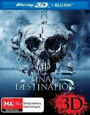 Final Destination 5 (Blu-ray 3D + Blu-ray, 2012, 2-Disc Set)