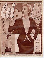 rivista LEI ANNO 1953 NUMERO 11