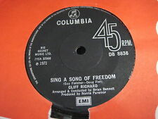 Cliff Richard - Sing a song for freedom