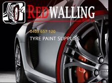 Tyre Whitewall Machine Redwall PAINT 250ml White Wall Red Wall ALL COLOURS