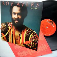 ROY AYERS Let's do it NEAR-MINT Vinyl LP WITH insert NOT a cut-out NO bar-code