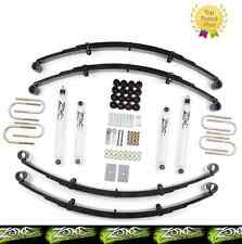 "1987-1995 Jeep Wrangler YJ 4WD 2"" Full Suspension Lift Kit Zone Offroad J27"