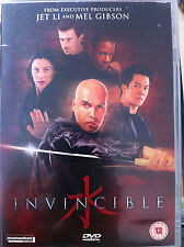 Billy Zane Dominic Purcell INVINCIBLE ~ 2001 Marciales Artes Película GB DVD