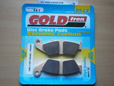 GOLD-FREN SINTERED FRONT BRAKE PADS For HONDA NX-4 FALCON (2002-2005) NX4 FALCON