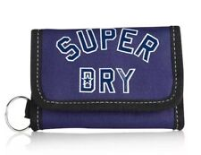 Superdry wallet League Biofold Coins Notes 5 Card Slot Keyring For Security  New