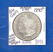 1890 CC BU GEM MORGAN SILVER DOLLAR COIN# 8011 $UNC/MS+++US MINT$RARE KEY DATE$