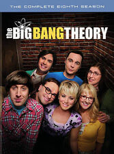 The Big Bang Theory The Complete Eighth Season DVD 2015 Jim Parsons Susi 8 NEW