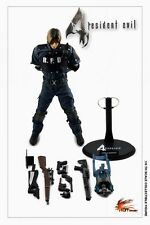 "Hot Heart 1/6 Scale 12"" Resident Evil 4 Leon Kennedy RPD Police Uniform Version"