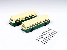 N Scale-Classic Metal Work-52309-GMC TDH 3610 Transit Bus-Transit Green & Cream
