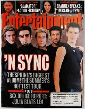 Entertainment Weekly 541  May 19 2000  N SYNC   Gladiator  Shannen Doherty