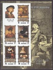 KOREA Pn. 1983 MNH** SC#2268 Sheet,  Rembrandt Paintings. Imp.