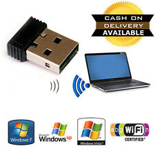 Mini Wireless Wi-Fi Nano USB WiFi Adapter Dongle 2.4GHz 150mbps 802.11N