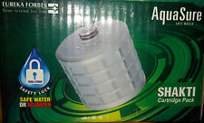 AQUASURE Shakti Cartridge Kit for Aquasure Shakti Filter, Cartridg Life-1500 Ltr