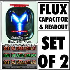 Fridge Fun Refrigerator Magnet BACK TO THE FUTURE: FLUX CAPACITOR & READOUT SET