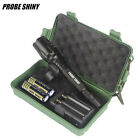 8000Lumen X800 G700 Zoom XML T6 LED Flashlight Torch+ 18650 Battery+Charger+Case