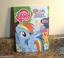 My Little Pony Coloring and Activity Book 144 Pages and Stickers Rainbow  NEW