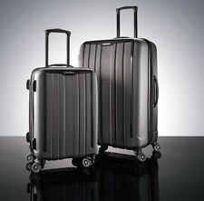 Samsonite ExoFrame 2 Piece Suitcase Luggage Set Charcoal Large + Cabin Spinner