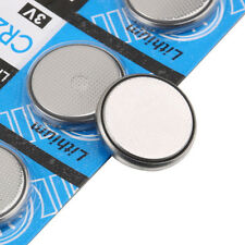 5Pcs Lot 3V Li-ion Cell Battery CR2032 3 Volt Coin Button Cell Battery Batteries