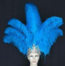 arnival -Dance Ostrich Feather Headdress Showgirl Samba