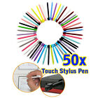 50pcs Multi-colour Plastic Stylus Touch Pen For Nintendo Game NDS DS Lite NDSL