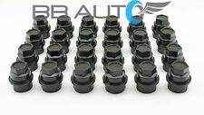 24 NEW BLACK LUG NUT COVERS CAPS CHEVY GMC SILVERADO 1500 2500 FULL SIZE TRUCK