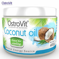 Coconut Oil 400 g 100% PURE The Best Oil For Frying No Fillers Refined Fat Loss