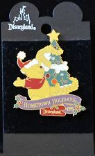 Disneyland HOMETOWN HOLIDAYS 1999 WINNIE THE POOH Pin -  Retired Disney Pins