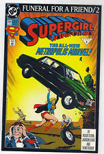"""""""Action Comics"""" no. 685 """"Supergirl: Funeral For a Friend pt. 2"""" January 1993."""