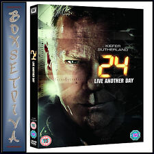 24 - LIVE ANOTHER DAY - Kiefer Sutherland  **BRAND NEW DVD ***
