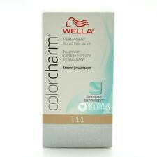 Wella Color Charm Permanent Toner - T11 - Lightest Beige Blonde 1.4 oz