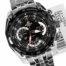 Casio Edifice Men's Watch - EF-550-1AVDF BLACK CHRONOGRAPH